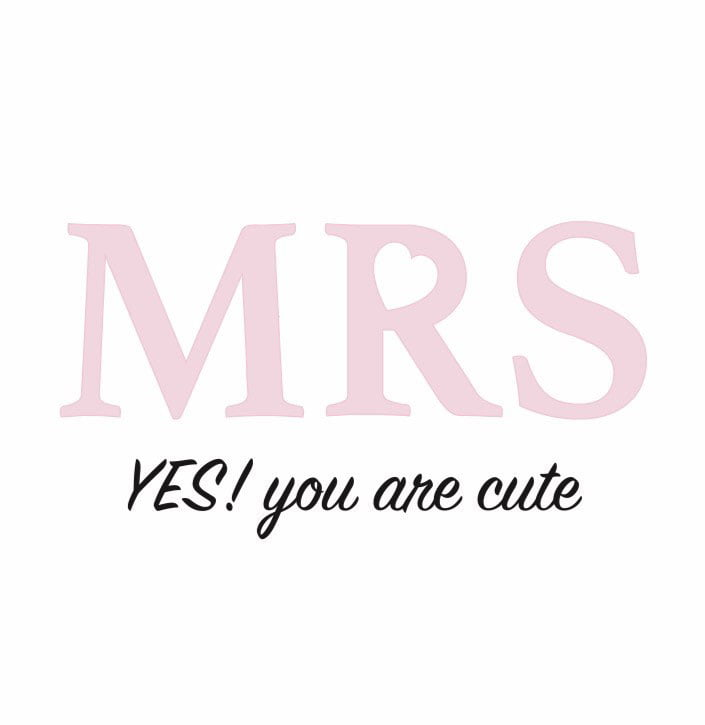 Logo Mrs Cute & Co Blanco