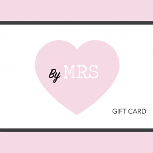 Tarjeta regalo Mrs Cute & Co