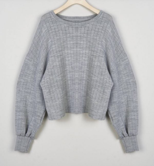 Sweater grey Oversize